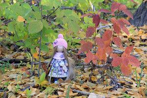 Зашла в лес